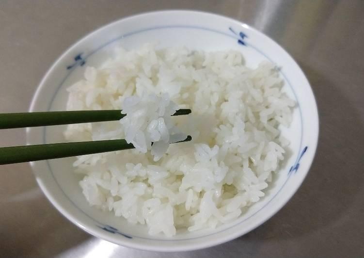 Como hacer arroz japones con arroz normal