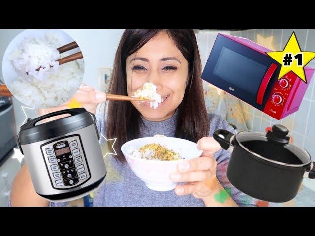 Como hacer arroz japonés en arrocera