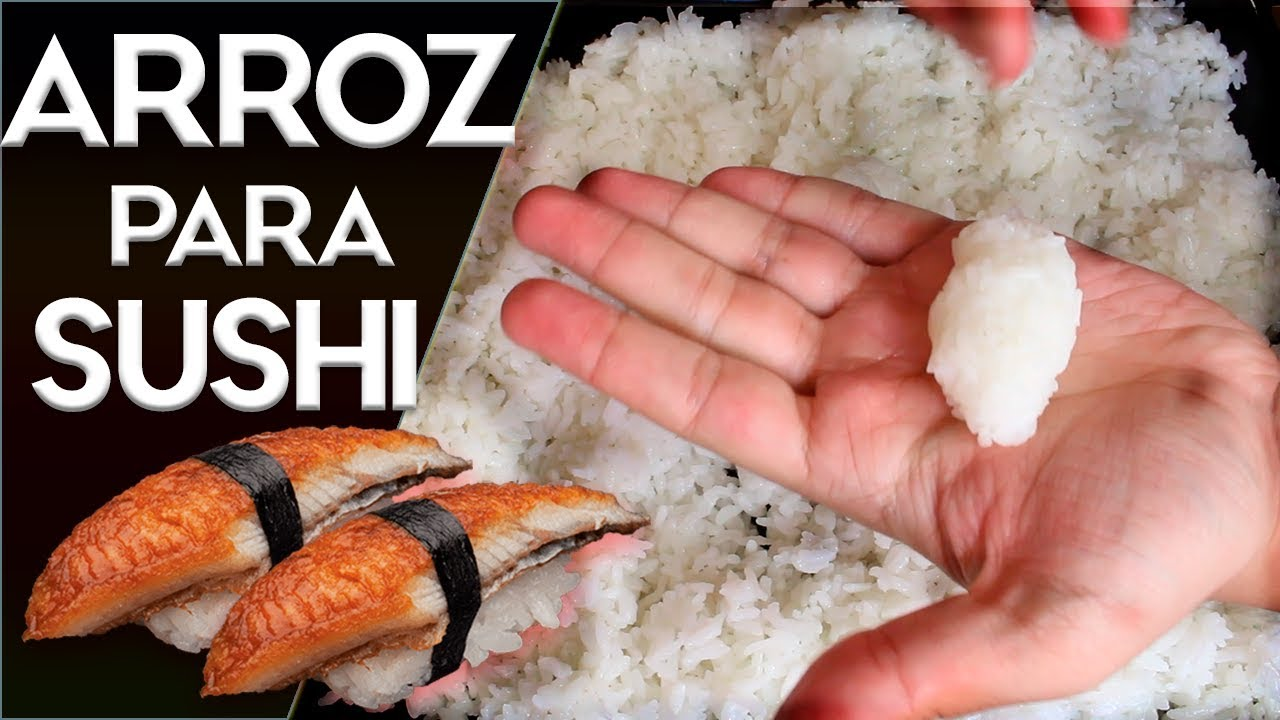 Como hacer arroz japones para sushi