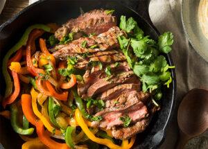 Fajitas de carne Adobadas Reseta Mexicana para ☆Ti☆