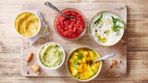 Salsa Roja a la Parrillas para Vegetariana o Carnevoro